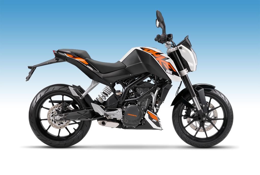 KTM 125 Duke 125 cm³